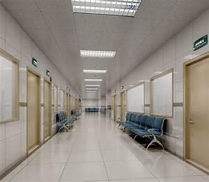 Hospital interior 3D model | CGTrader