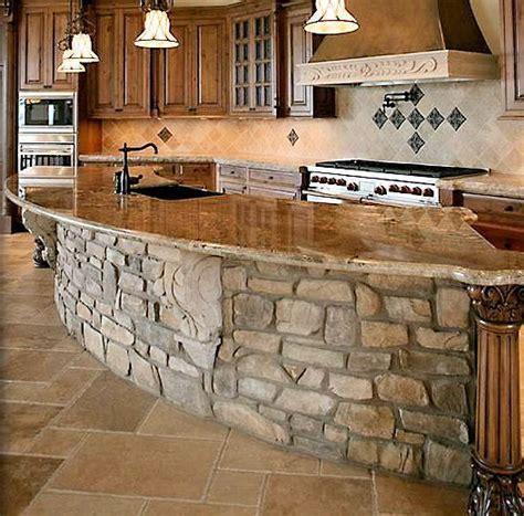 Best 25  Stone kitchen island ideas on Pinterest   Stone