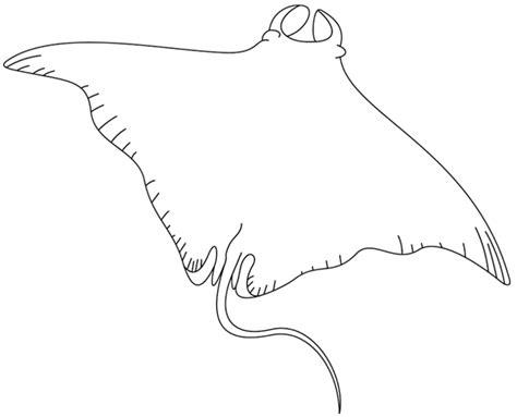comment cuisiner une raie coloriage à imprimer une raie manta turbulus jeux
