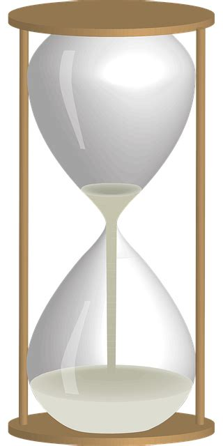vector graphic egg timer clock time hourglass