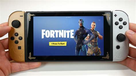 fortnite  nintendo switch gameplay youtube