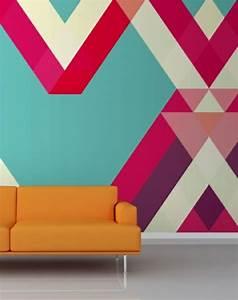 Tapete Geometrische Muster : 33tapetenmuster unter denen jeder das passendste findet ~ Sanjose-hotels-ca.com Haus und Dekorationen