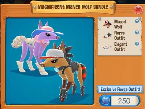 magnificent maned wolf bundle play wild wiki fandom