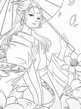 Coloring Poems Beauty Adult sketch template