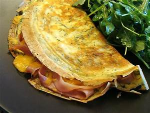 Dill Ham & Cheese Omelet   Rux Cooks