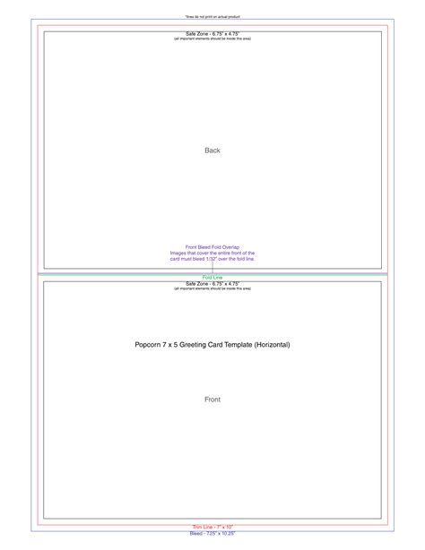 greeting card template page sle greeting card template free