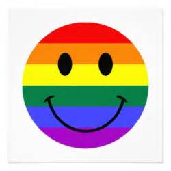 Rainbow Smiley-Face