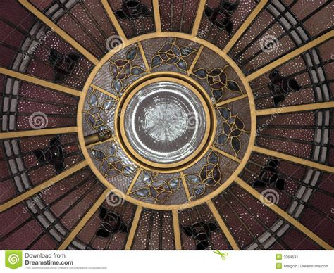 tin ceilings deco ceiling dome stock image image of entrance