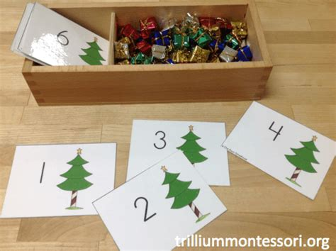 december activities for preschool trillium montessori 454 | Counting Christmas Gifts 2