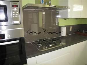 credence cuisine en verre maison design sphenacom With credence cuisine en verre design