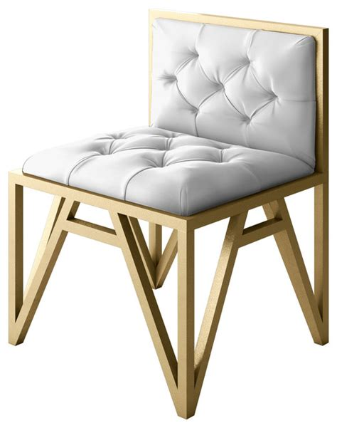 kevin modern metal chair with frame modern armchairs