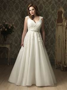 a line princess v neck cap sleeve tulle lace plus size With plus size tulle wedding dress