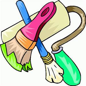 Clip Art Painting Tools Clipart - Clipart Suggest