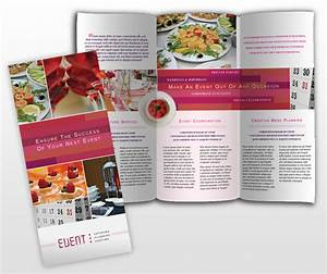 catering corporate event planning services business tri With event pamphlet template