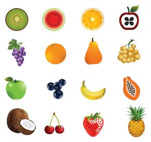 Vector Icons Fruit