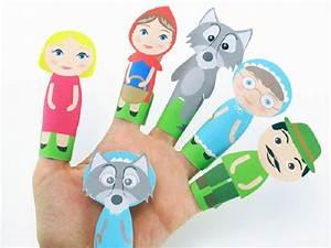 Fabriquer Un Personnage En Carton : marionnette doigt imprimer 10 mod les ~ Zukunftsfamilie.com Idées de Décoration