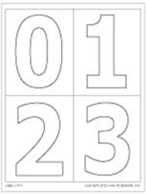Hausnummer Schablonen Vorlagen by Best 25 Number Stencils Ideas On Number