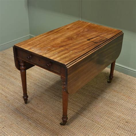 characterful country antique regency solid mahogany drop