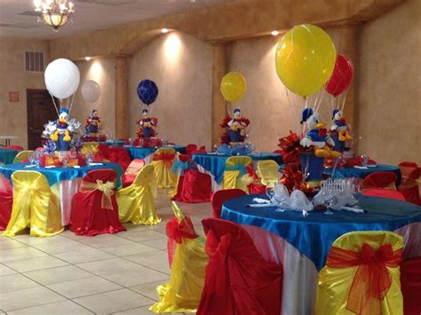 17 Best Images About Donald Duck Party On Pinterest