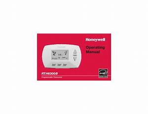 Honeywell Rth6300b Programmable Thermostat Operating Manual