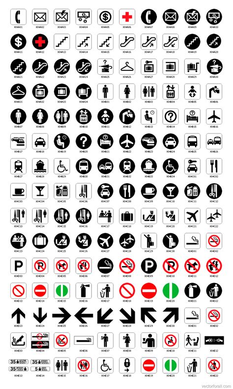 International Sign Symbols