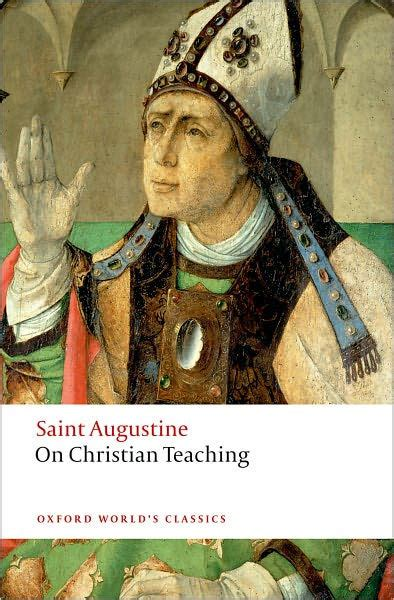 barnes and noble st augustine on christian teaching by augustine 9780199540631