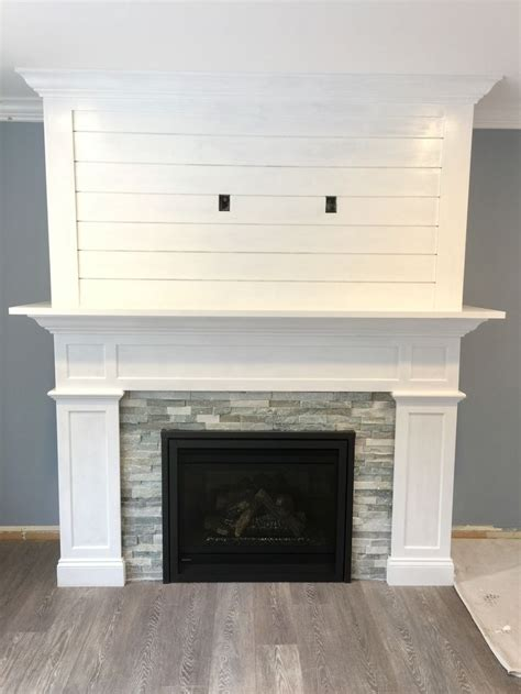 Shiplap Fireplace by 25 Best Ideas About Shiplap Fireplace On
