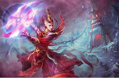 Fantasy Sorcerer Wallpapers Wizard Prince Dragon Mage