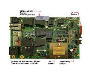 Balboa Circuit Board Iconmr Alt Replacement