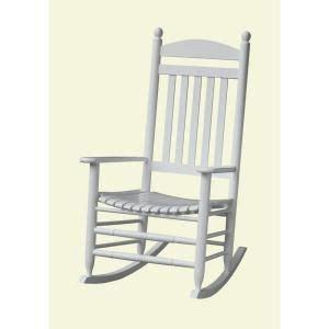 bradley white slat patio rocking chair 200sw rta at the