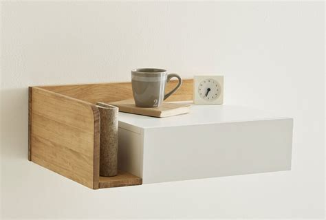 la redoute table cuisine 10 easy pieces wall mounted bedside shelves with drawers