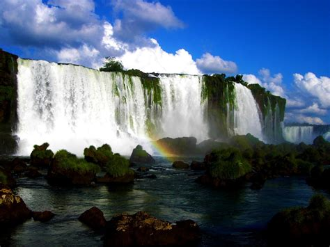Loveisspeed The Power Of Wateriguazu Falls Are