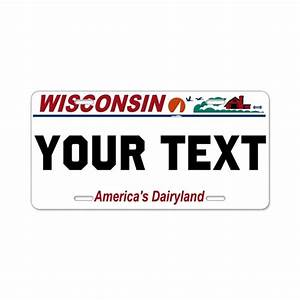 wisconsin current license plate replica by werewolfspeedshop With wisconsin drivers license template