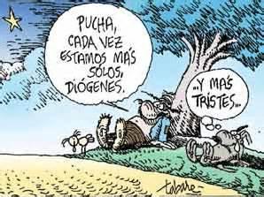 nando cartoonista di 243 genes y el linyera rinden su homenaje