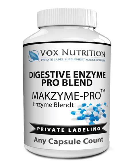 private label digestive enzyme vitamin supplement vox