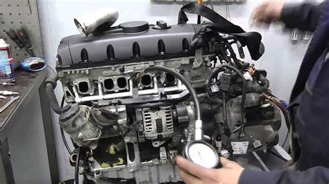проверка двигателя vw transporter t 5 2009г 2 5tdi bnz