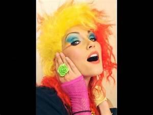 Cyndi Lauper (80's rocker) Costume Make-Up - by kandee ...