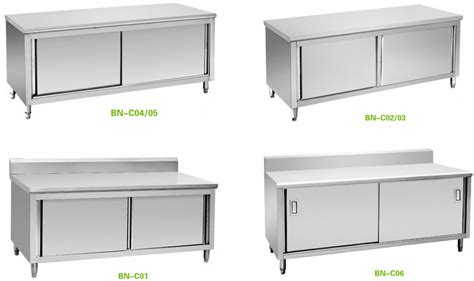 stainless steel restaurant kitchen cabinets cabinet kitchens restaurant equipment stainless steel 8292
