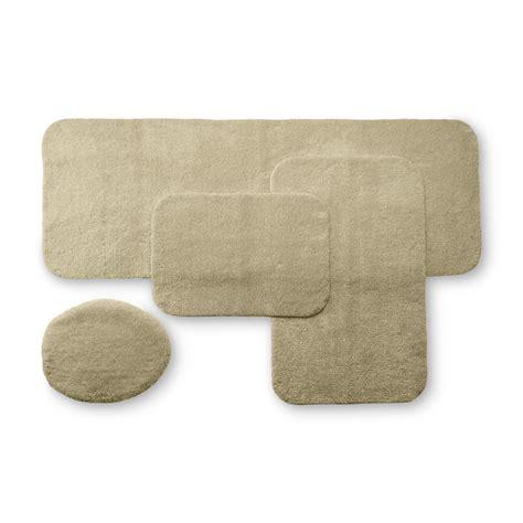 kmart blue bath rugs cannon ring spun bath rug coordinates