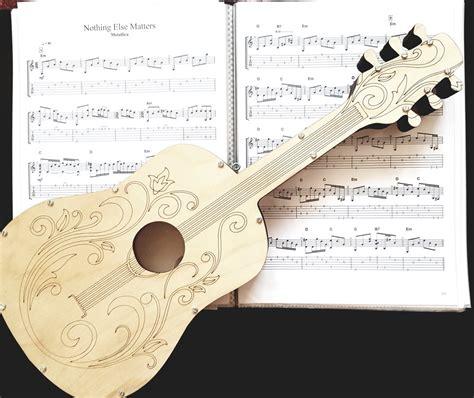 Koka krājkase ģitāra 50x20cm - Krājkases - Koka dekori un ...
