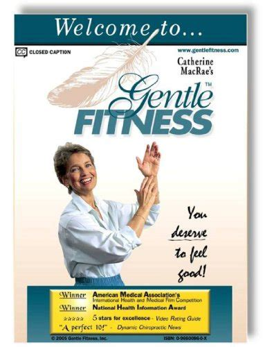 Chair Exercise For Seniors Dvd by Gentle Fitness Dvd The Original Award Winning Chair