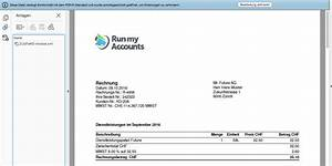 Sponsoring Rechnung : run my accounts lanciert e rechnung l sung f r zugferd format it magazine ~ Themetempest.com Abrechnung