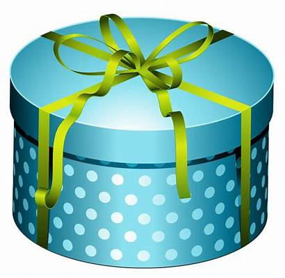 Gift Present Bow Clipart Round Gifts Clip