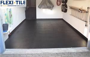 Farbe Für Bodenfliesen : modernisierung eines garagenbodens pvc fu bodenbelag ~ Michelbontemps.com Haus und Dekorationen