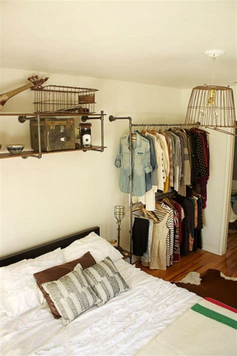 open space closets     organized