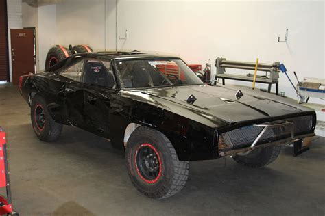 1970 Dodgecharger Rt Off Road Fast And Furious7 Movie
