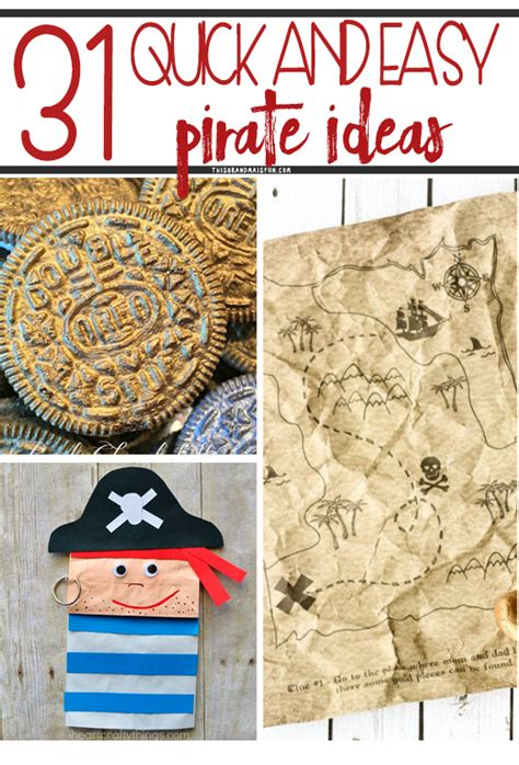 easy pirate ideas tgif  grandma  fun
