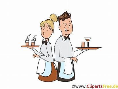 Clipart Gastronomie Serveuse Serveur Utklipp Kostenlos Catering