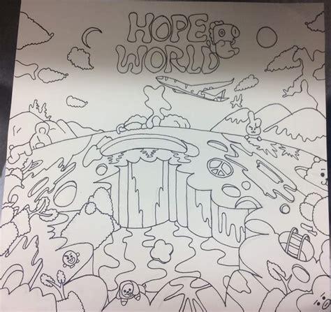 hope world fanart bt characters   find