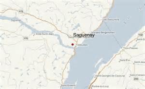 Saguenay Quebec Canada Map
